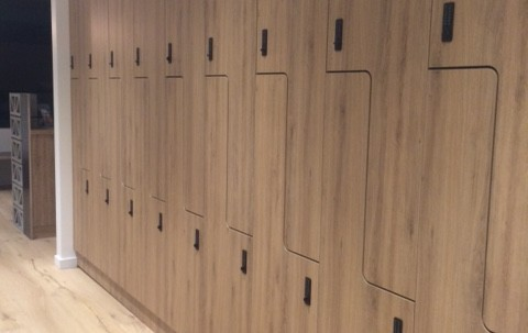 Timber Electronic Lockers
